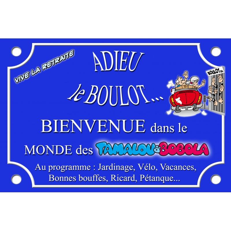 PLAQUE DE RUE PLACE TAMALOU Vive la retraite - Tamalou et ...