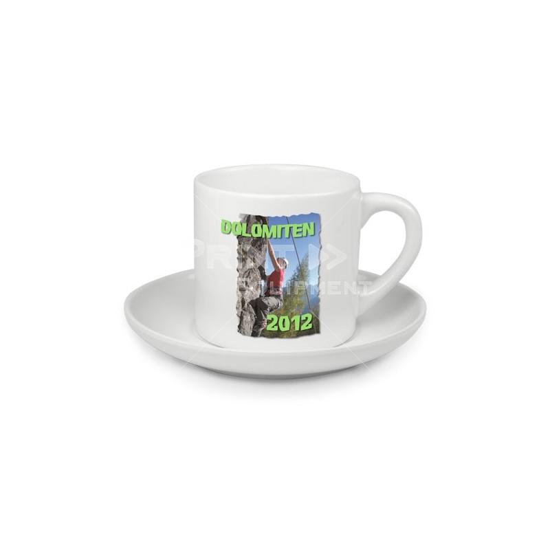 tasse caf avec soucoupe personnaliser tamalou et bobola. Black Bedroom Furniture Sets. Home Design Ideas