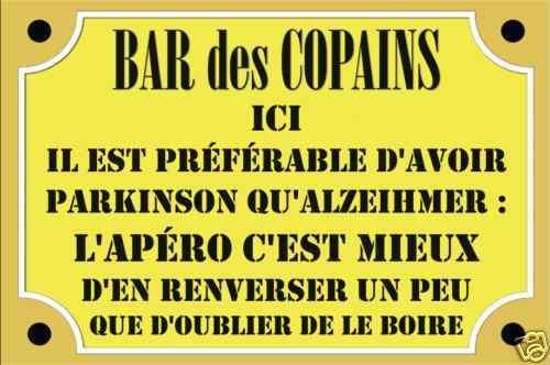 PLAQUE décoration café bar bistrot ricard - Tamalou et Bobola