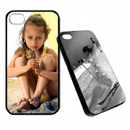 COQUE PERSONNALISABLE APPLE iPhone 4 4S - Tamalou et Bobola